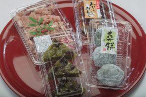 生菓子・赤飯